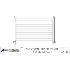 aluminum fence download