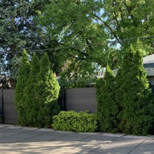 composite fence panels canada