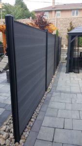 composite fence panels brampton